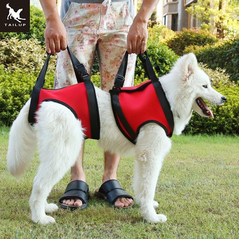 Mbështetëse për ngritjen e qenit TAILUP Mbështetëse për Ndihmimin K9 Ndihmë për qenin e vjetër me dorezë për lëndime Artriti ose këmbët e dobëta