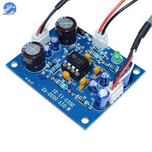 Image 2 - NE5532 OP AMP Stereo Amplifier Board Audio HIFI Speaker Amplifier Module Control Board Circuit Sound Development for Arduino