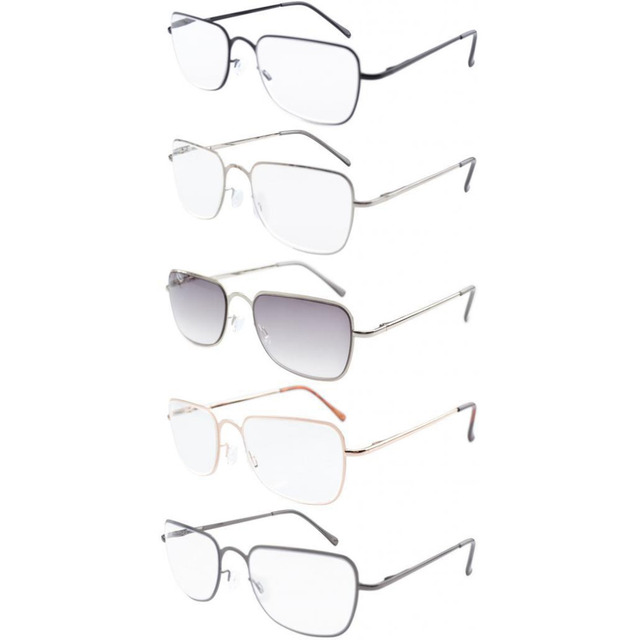 0e26a903ce8 R1501 Mix Eyekepper 5-pack Spring Hinges Reading Glasses Readers Includes  Sun Readers