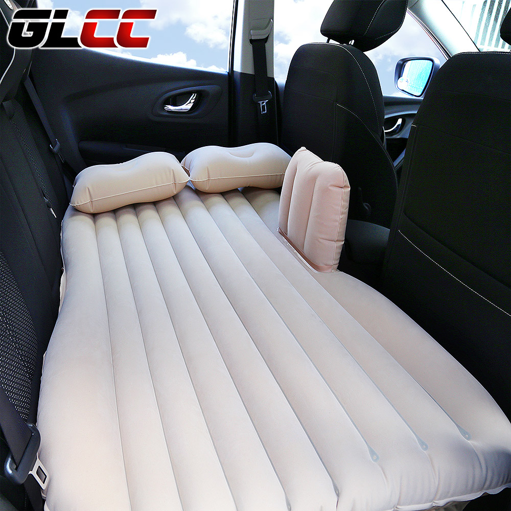 Air Mattress for Car Travel Back Seat Covers Extended Cushion Inflatable Mattress in Car Bed Dedicated Mobile camping Sofa drive travel deflatable air inflation bed mattress suv camping pvc material car seat cover cushion with car electric air pump