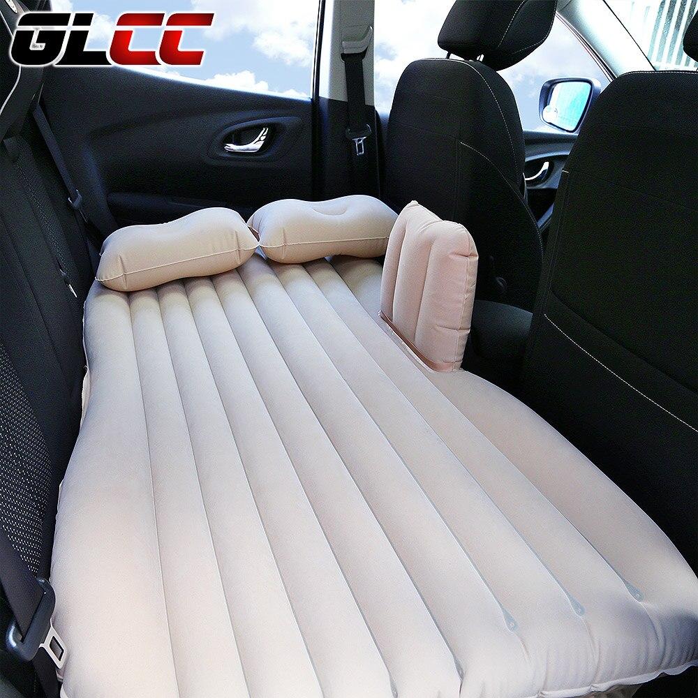 Luftmatratze für Auto Reise Zurück Sitzbezüge Erweiterte Kissen Aufblasbare Matratze in Auto Bett Gewidmet Mobilen camping Sofa