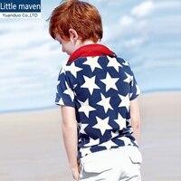 Hot Sale High Quality Summer Baby Boys Clothes Short Sleeve Kids Tshirt Boys Shirt 100 Cotton