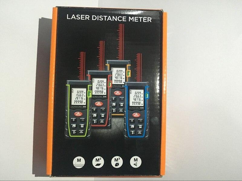 Laser Entfernungsmesser Oem : Laser distanzmessgerät 60 mt herrscher entfernungsmesser