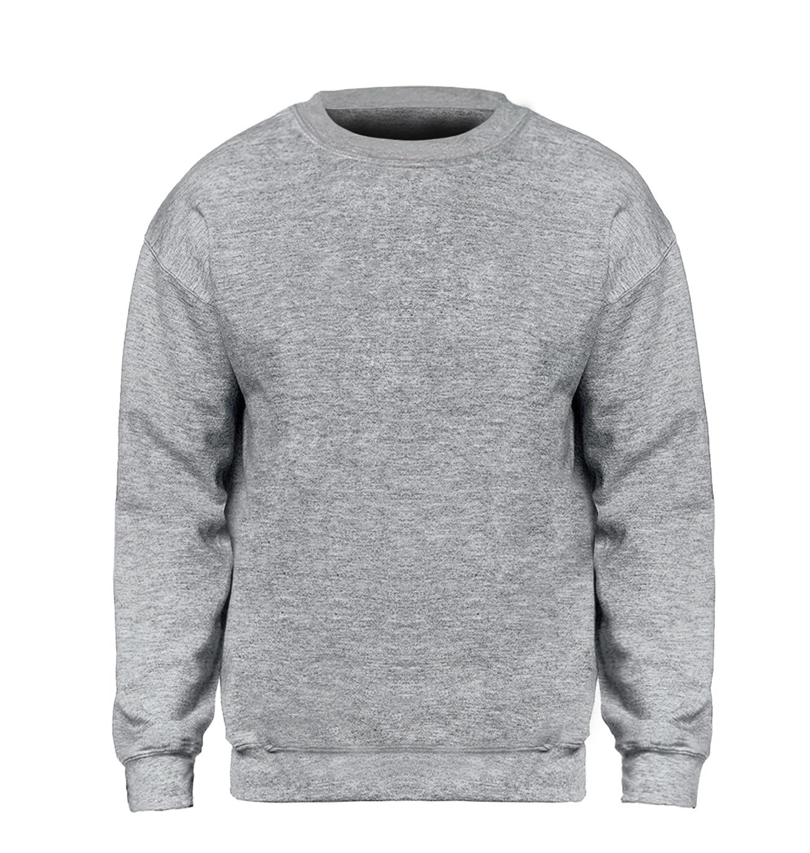 Solid color Sweatshirt Men Hoodie Crewneck Sweatshirts Winter Autumn Fleece Hoody Casual Gray Blue Red Black White Streetwear 1