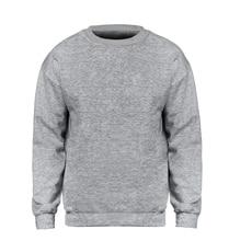 цены на Solid color Sweatshirt Men Hoodie Crewneck Sweatshirts Winter Autumn Fleece Hoody Casual Gray Blue Red Black White Streetwear  в интернет-магазинах