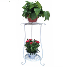 Saksisi Dekoru Decoration Exterieur Varanda Planten Rek Mensole Per Fiori Shelf Balkon Plant Stand Balcony Flower Iron Rack tanie tanio Metal W ECSMOTH