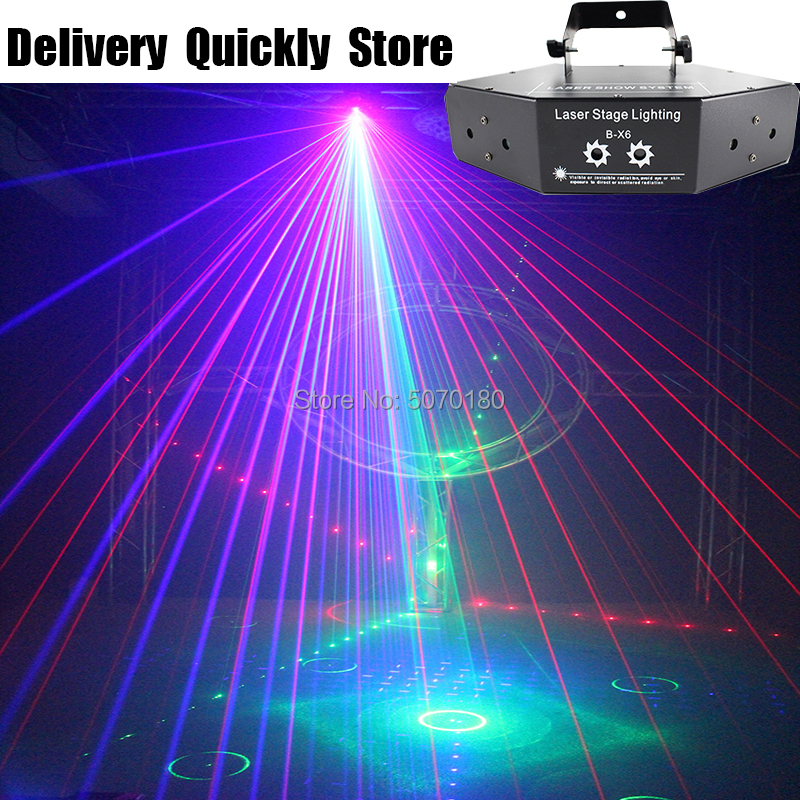 Show Time RGB Dj Laser Image Lines Beam Scans Disco DJ Dance Bar Coffee Xmas Home Party Disco Effect Lighting Light System Show