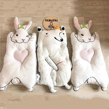 Newborn Play Mats Cute Rabbit Climbing Baby Kids Carpet for Infant Cotton Lion Koala Cat Bear Soft Sleeping Mat