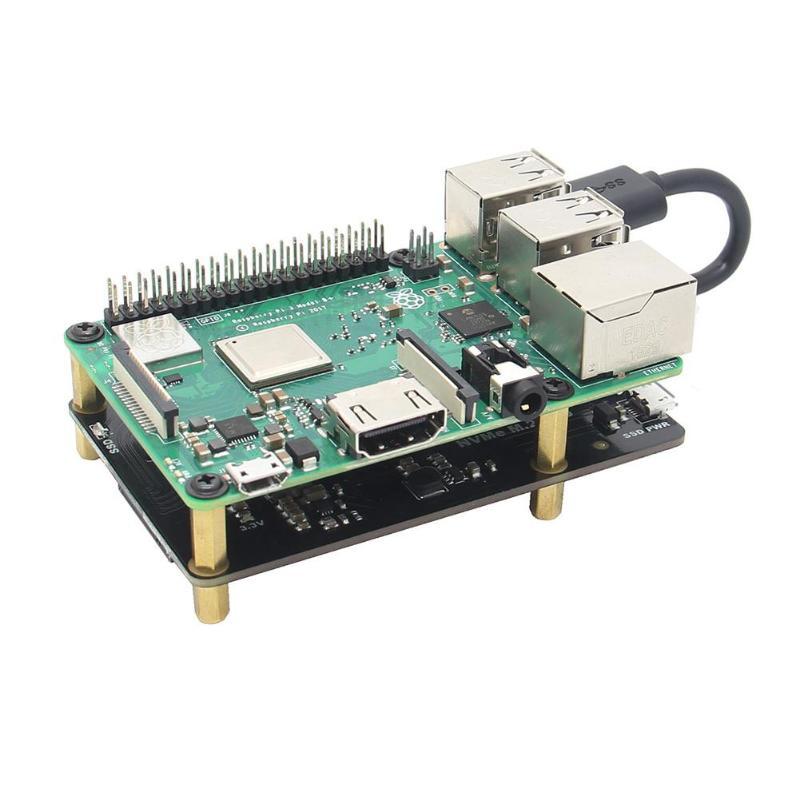 Carte d'extension de stockage Raspberry Pi X870 NVME SSD Shield M.2 NAS/ROCK64