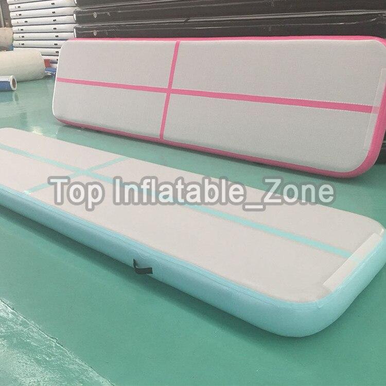 Grand escompte gonflable Airtrack 3M usage domestique Air piste tapis pour humain Top qualité gonflable Air piste gymnastique avec pompe à Air