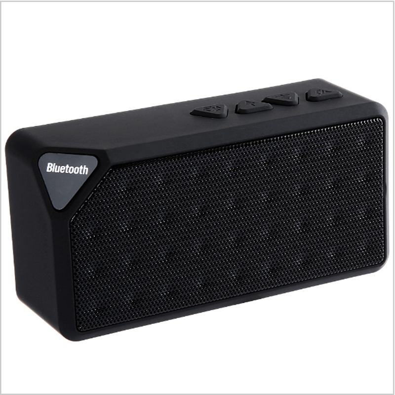 Mini Bluetooth Speaker TF USB FM Radio Wireless Portable Music Sound Box Subwoofer Loudspeakers with Mic