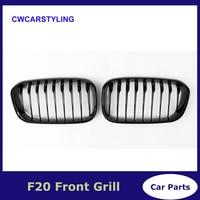 F20 LCI ABS front bumper Front grille for BMW facelifted F21 120i 118i 118d 116i M135i 2015 2018