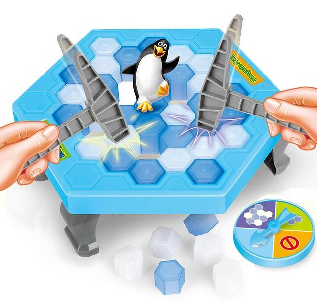 Ice Breaking Save Penguin Trap <font><b>Activate</b></font> Great <font><b>Family</b></font> <font><b>Fun</b></font> <font><b>Game</b></font> - The One Who Make The Penguin Fall Off , The Will Lose This <font><b>Game</b></font>