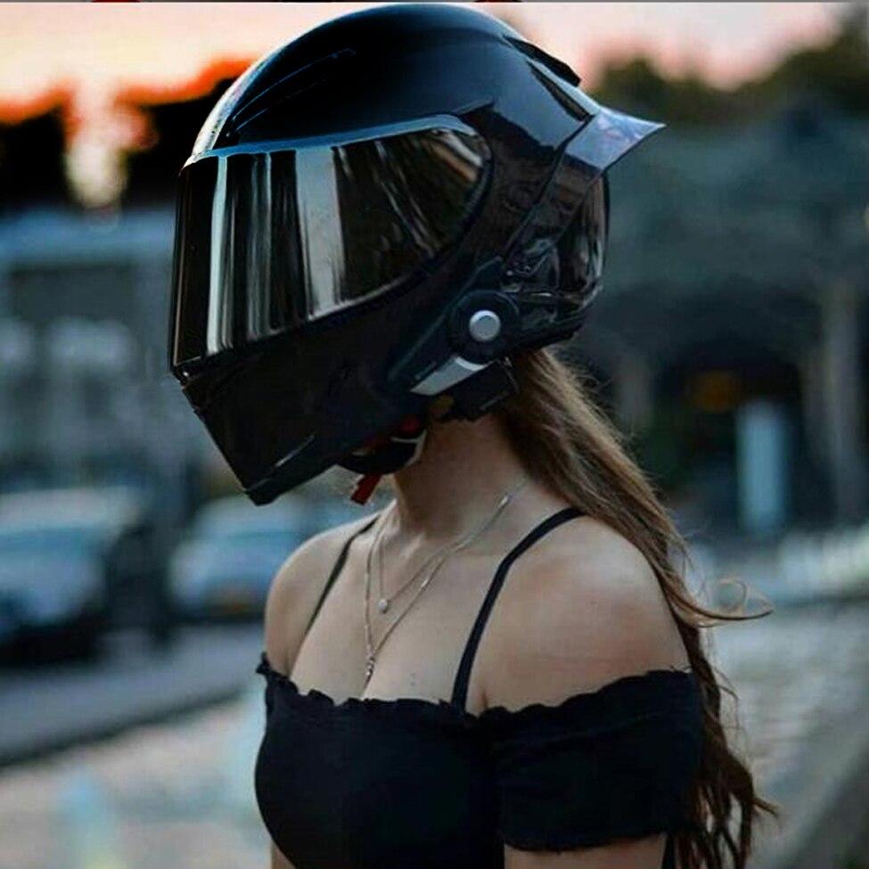 Full Face Motorcycle Helmet Motocross Racing Helmet Full Kask DOT Certification Man Cool Woman Casco Moto Casque