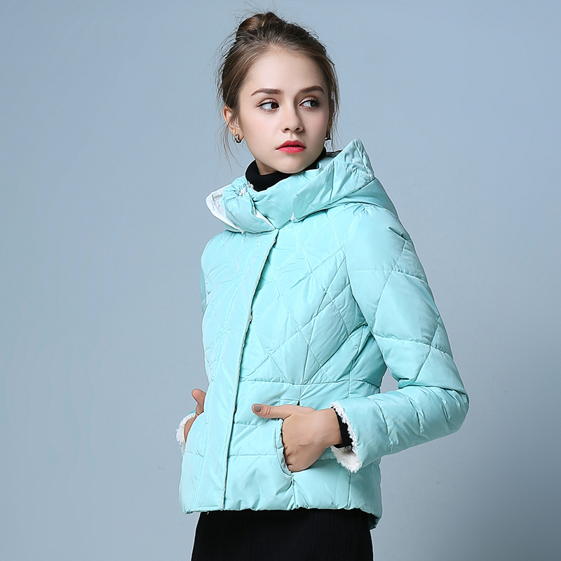 BIBOYAMALL Winter white duck down and cotton Women Parkas Coat Fashion Long Sleeve  Jacket  for Women with Hollow Cotton Inside цены онлайн