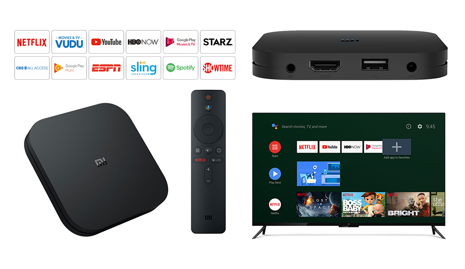 Xiaomi Mi Box S 4K HDR Android TV with Google Assistant Remote Streaming Media Player (5)