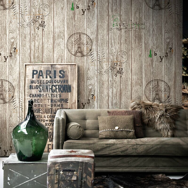 online kopen wholesale houten planken behang uit china houten, Deco ideeën