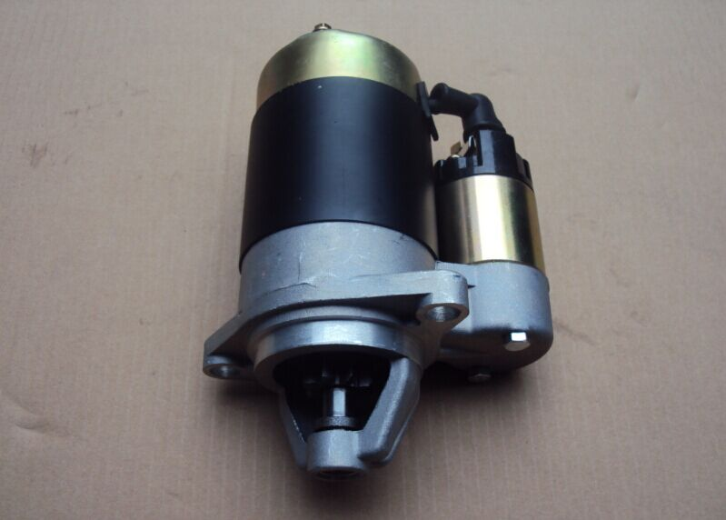 Fast Shipping diesel engine 186F starting motor starter motor air cooled  suit for kipor kama and all the chinese brand fast ship diesel engine 188f conical degree crankshaft taper use on generator suit for kipor kama and all chinese brand