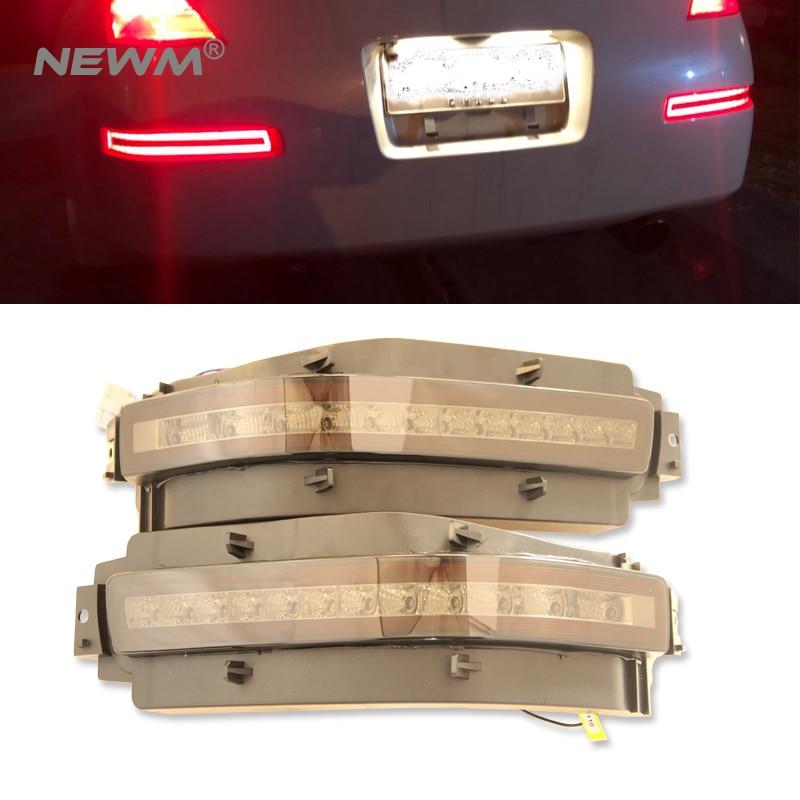 Led For Nissan 350Z 03 09 Led Backup reversing white Turn singal light amber Rear fog