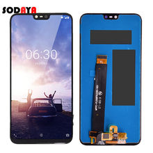 Originele Display Voor Nokia X6 Lcd-scherm Touch Screen Digitizer Voor Nokia 6.1 Plus Lcd Vervanging(China)