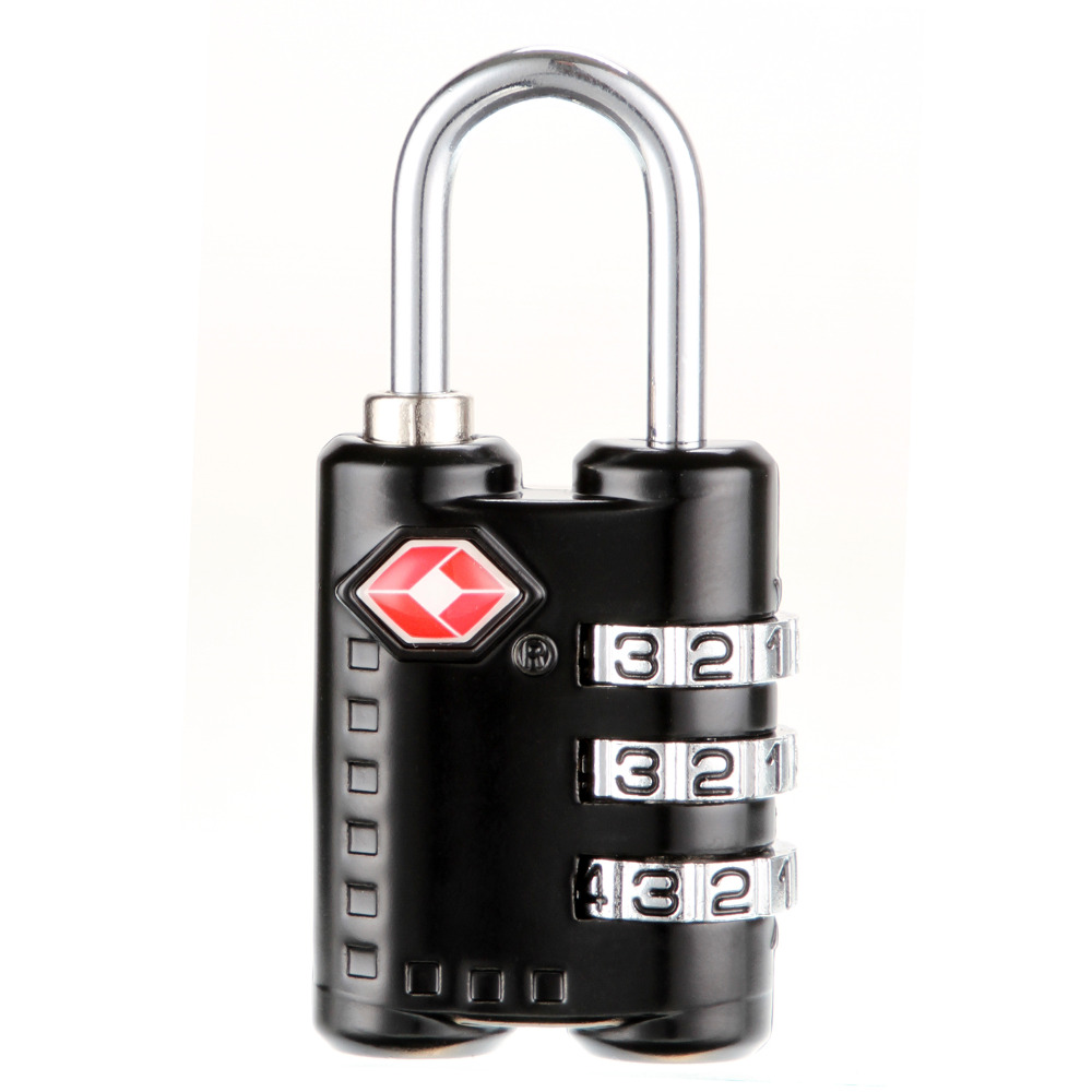 377a7c1b4bde US $5.78 30% OFF|TSA Resettable 3 Digit Combination Lock Travel Luggage  Suitcase Code Padlock Zinc Alloy Security Code Number Lock -in Travel ...