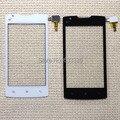 Toque digitador da tela com flex para Lenovo A2800-D A2800D painel de lente de vidro exterior preto e branco