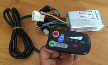 24v36V48V250W-1000w controller and LED display for electric bike scooter motorcycle 790 with light indicator conversion parts