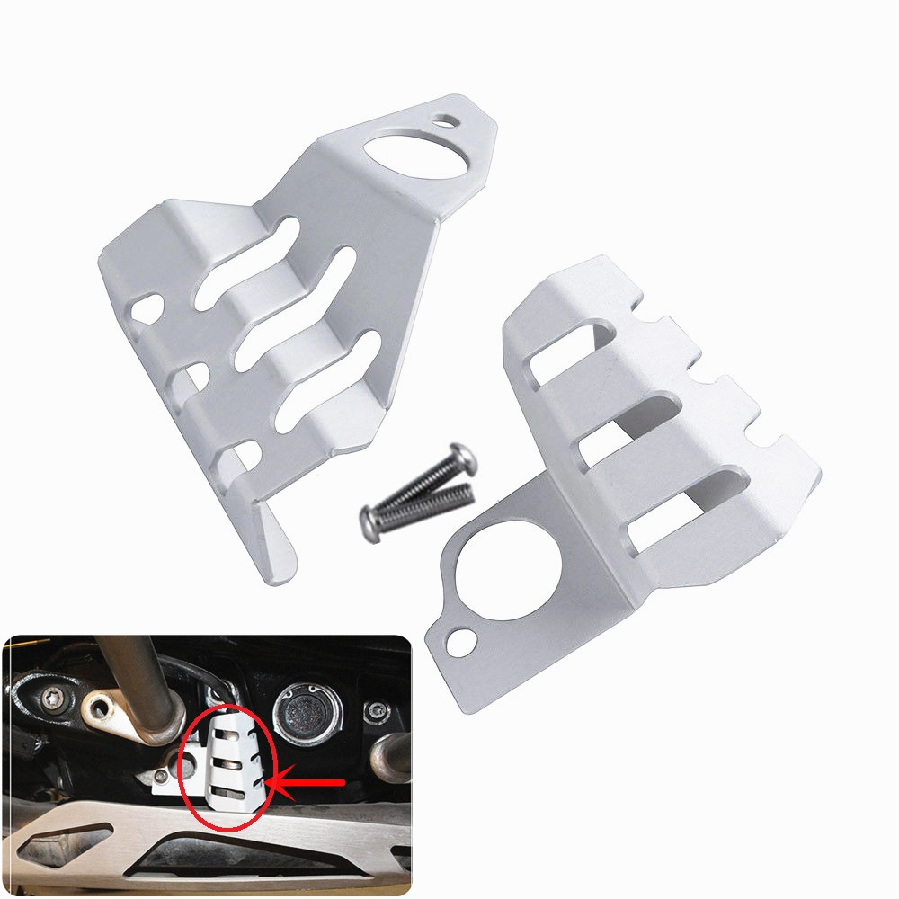 for BMW R1200GS ADV R1200 GS 2013 2016 Left Right Front Sensor Protector Cover for BMW R NINE T R9T 2013 2014 2015 2016 2017
