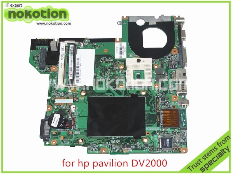 все цены на  440778-001 417036-001 48.4F501.051 for HP Pavilion DV2000 Laptop motherboard 945GM intel graphics without overheat Mainboard  онлайн