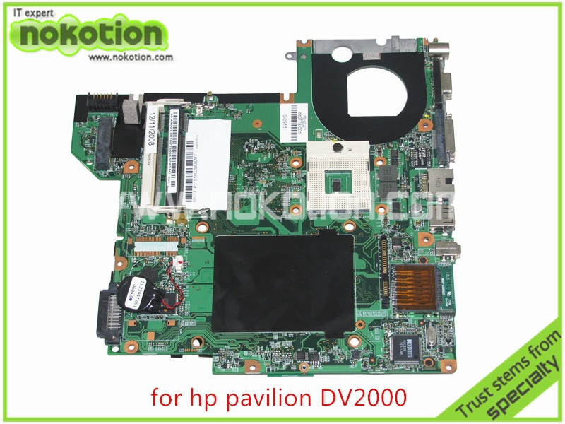 NOKOTION 440778-001 417036-001 48.4F501.051 for HP Pavilion DV2000 Laptop motherboard 945GM without overheat Mainboard nokotion 460715 001 448598 001 48 4x901 05m laptop motherboard for hp pavilion dv2000 v3000 gm965 ddr2 high quality