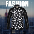 Long Sleeve Jacket Men's Fall / Winter Young Women's Leather Jacket