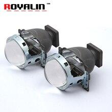 ROYALIN Car Bi Xenon Projector Headlights for Q5 Koito D1S D2S D3S D4S HID Lamps Lens 3 inch 35W LHD Lights Retrofit