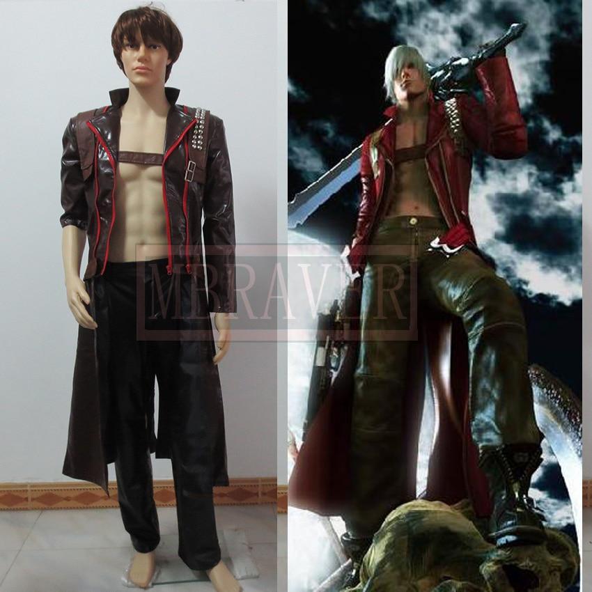 Devil May Cry Dante cosplay costume devil may cry ultimate dante 7 action figure neca alastor instock ne031001