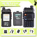 New Designed uv5r 136-174 / 400-480MHz two way boafeng walkie talkie radio repeater