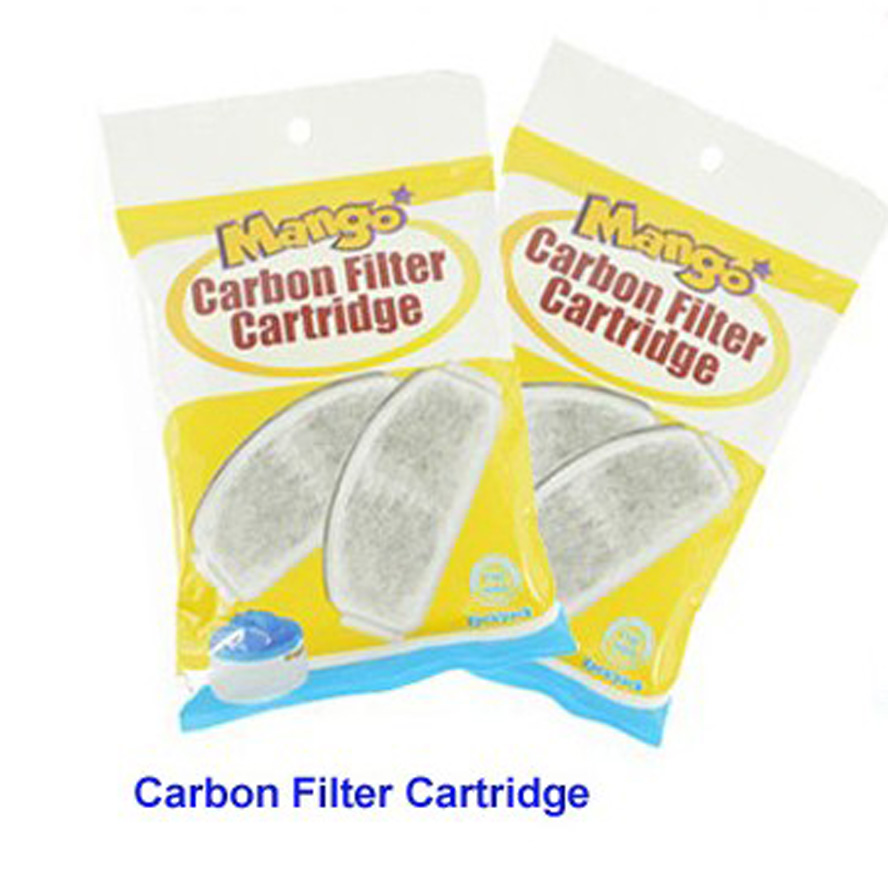 3baglot Carbon Filter Cartridge for 9714 pet fountain electric pet water feeder 2pcsbag