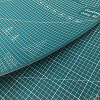 Новый коврик для резки A1 ПВХ Прямоугольник Самоисцеления толще защита настольных коврик A1 ремесло темно-Green90cm * 60 см * 0,3 см