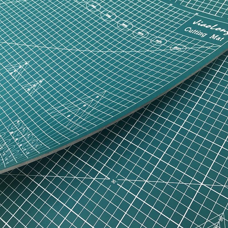 Nouveau tapis de coupe A1 Pvc Rectangle auto-guérison plus épais tapis de Protection de bureau A1 Craft foncé Green90cm * 60 cm * 0.3 cm