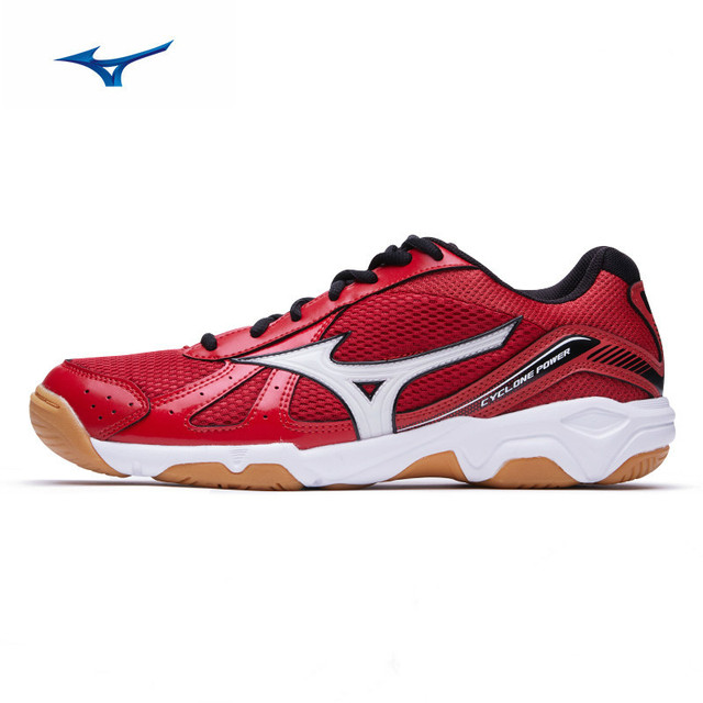 MIZUNO CYCLONE POWER badminton shoes volleyball shoes men women Cushion  Sports Shoes Breathable Non-slip indoors Sneakers f653a39973