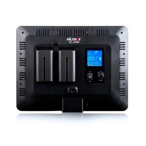 Image 4 - Viltrox VL 200 פרו אלחוטי מרחוק LED וידאו סטודיו אור מנורת Slim דו צבע Dimmable + AC מתאם + 2M אור stand עבור מצלמת וידאו