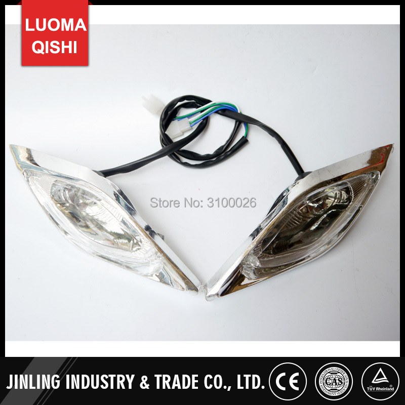 Atv Parts & Accessories Brilliant Front Light Of 110cc 125cc 150cc 250cc Atv Qud Bike Jla-11-08 Jla-12-08 Jla-13-08 Jla-21e Jla-21b Parts Sturdy Construction Back To Search Resultsautomobiles & Motorcycles