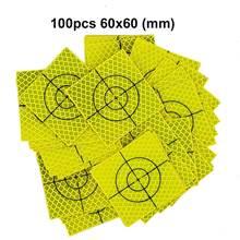 Новая флуоресцентная желто зеленая Ретро Светоотражающая мишень