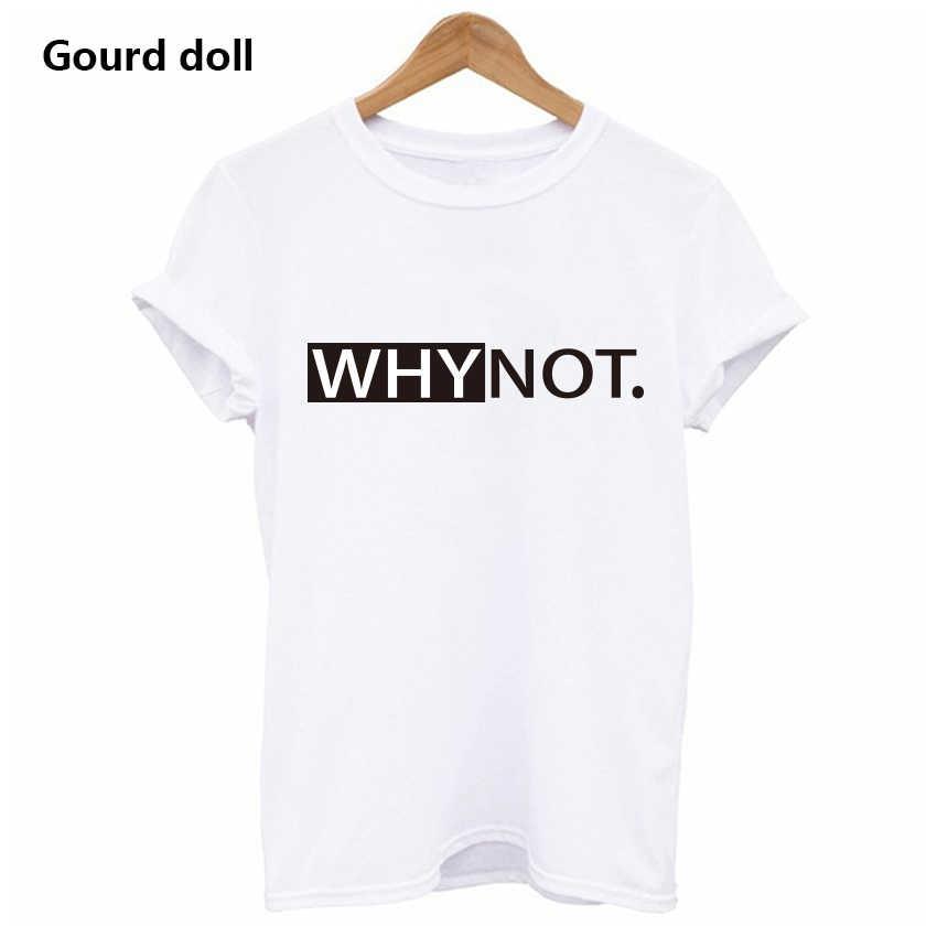 Harajuku neden yaz baskılı T Shirt kadınlar için beyaz Tees & Tops kadın kadın giysisi kısa kollu kırmızı moda tişörtler