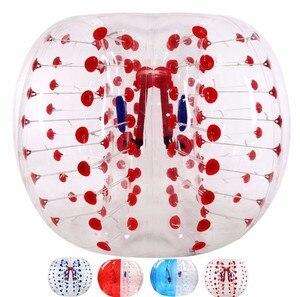 Image 4 - Burbuja para fútbol Zorb Ball 0,8mm TPU 1,2 M 1,5 M 1,7 m pelota de choque de aire adulto inflable burbuja de fútbol, Zorb Ball para la venta