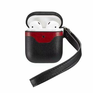 Image 2 - עבור AirPods עור מקרה כיסוי מגן עור עבור אפל Airpod טעינת מקרה ספורט אוזניות fone דה ouvido drop קניות