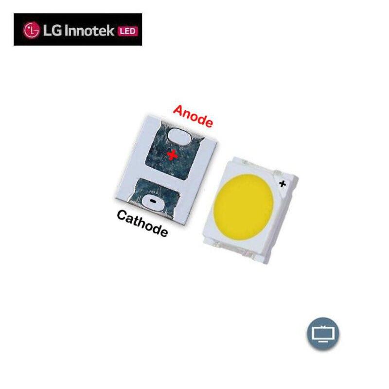 2019 New  LG LED LCD TV Backlight Lamp Beads Lens 1W 3v 3528 2835 Cool White Light Bead
