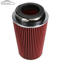 High Flow Car Air Filter Mechanical Supercharger Coche Automobile Filtre Cold Kit Reduce Engine Intake Resistance