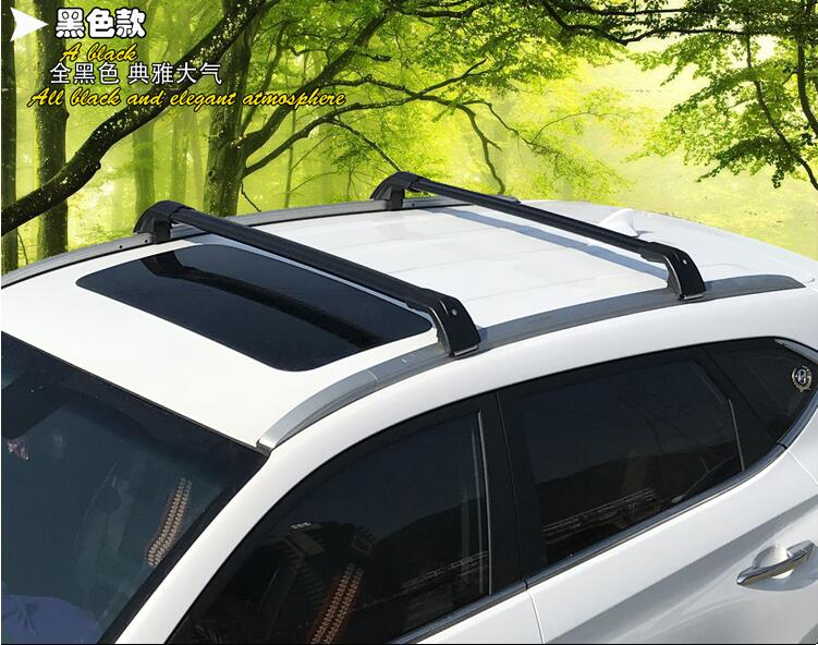 Car Aluminum Roof Rack Rail baggage luggage Cross Bar For Mitsubishi ASX 2013 2014 2015 2016