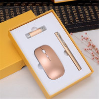 Signing Pen With 8g U Disk Wireless Mouse Student Graduation Prize Company Business Gift Souvenirs