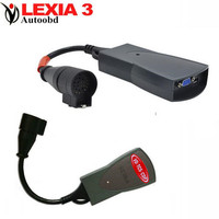 Lexia 3 PP2000 Lexia3 V48 V25 Diagnostic Tool Lexia 3 Automotivo Scaner Automotriz Diagbox V7.56 with PSA 30pin Adapter Cable