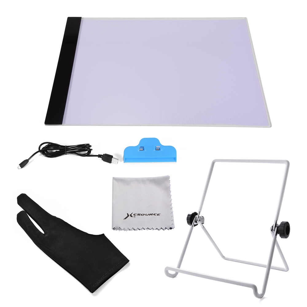 Craft light box for tracing - A4 Led Tracing Board Slim Drawing Copy Light Box Art Craft Stand Holder Ah299